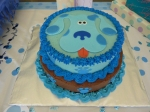 My Blue's Clues Cake