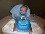 Loving my Blue's Clues cake!
