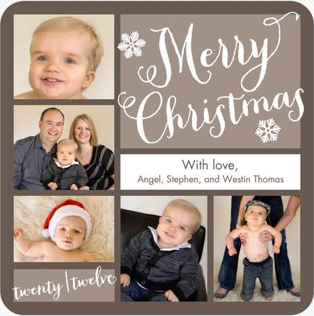 2012 christmas card - How To Sign A Christmas Card